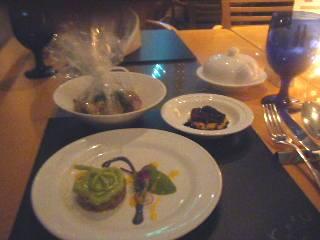 横浜ベイホテル東急 カフェトスカのディナーの様子