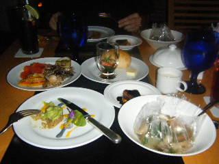 横浜ベイホテル東急 カフェトスカのディナーの様子2