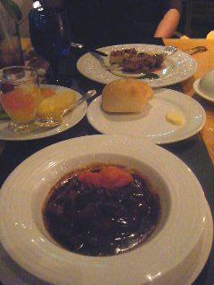 横浜ベイホテル東急 カフェトスカのディナーの様子3