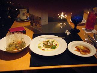 横浜ベイホテル東急 カフェトスカでナイトキッチンスタジアムのお料理