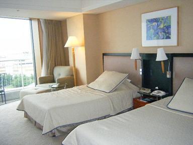 横浜ベイホテル東急 エグゼクティブツインの写真